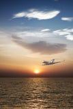 Privates Flugzeug Stockfoto