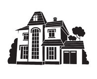 Privates Haus Stockbild