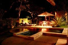 Privates Pool Stockfoto