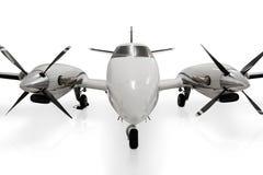 Privates Strahlen-Propeller-Flugzeug Lizenzfreies Stockbild