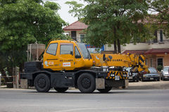 Privates TADANO Crevo 100 Crane Truck Lizenzfreie Stockfotos