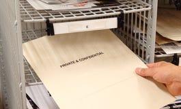 Privato e confidenziale Immagini Stock Libere da Diritti