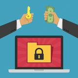 Privatsphären- und Sicherheitskonzept Lizenzfreies Stockfoto