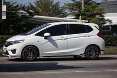 Privatstadt Auto Honda Jazz Hatchback stockfotografie
