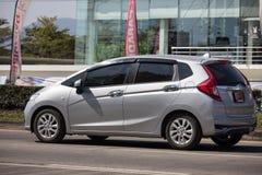 Privatstadt Auto Honda Jazz Hatchback lizenzfreies stockbild