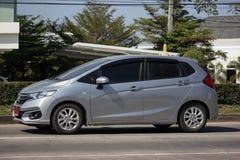 Privatstadt Auto Honda Jazz Hatchback lizenzfreie stockbilder