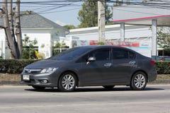 Privatwagen, Honda Civic Auf der keiner Straße 1001 Lizenzfreie Stockbilder