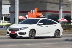Privatwagen, Honda Civic Auf der keiner Straße 1001 Lizenzfreies Stockbild