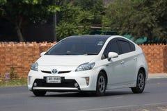 Privatwagen-Toyota Prius-Hybridsystem Stockfotografie
