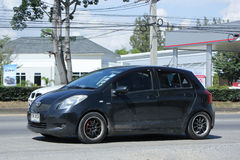 Privatwagen, Toyota Yaris Lizenzfreies Stockbild