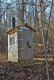 Privy on the Appalachian Trail Royalty Free Stock Photo