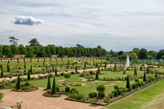 Privy Garden at Hampton Court Palace near London. The Privy Garden at Hampton Court Palace near London Royalty Free Stock Photos