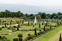 Privy Garden at Hampton Court Palace near London. The Privy Garden at Hampton Court Palace near London Royalty Free Stock Image