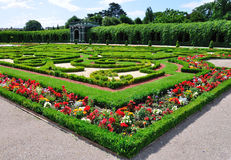 Privy garden of Schonbrunn Palace, Vienna, Austria Stock Photo