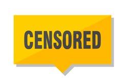 Prix à payer censuré illustration libre de droits