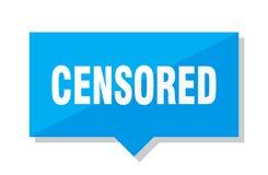 Prix à payer censuré illustration stock