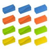 Prix à payer colorés Photo stock