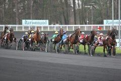 Prix d'Amérique, Vincennes, 2007 Stock Photos