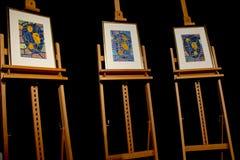 Prix de paix Nobel - récompenses 2011 Images libres de droits