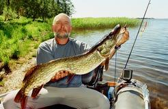 Prix grand de pêcheur Photos libres de droits