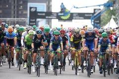 Prix grande Cycliste de Montreal Fotografia de Stock