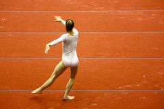prix gymnastique grand de 2008 Milan Photographie stock