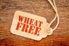 Prix à payer gratuit de papier de signe de blé Image libre de droits