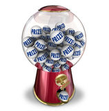 Prize Contest Gumball Machine Award Winner Royalty Free Stock Photography