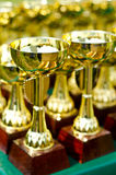 Prize cups Stock Image