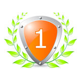 Prize for first place Royalty Free Stock Images