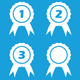 Prize icon set Stock Photo