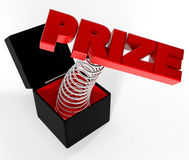 PRIZE Stock Image