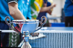 This is the award!. The prize of a local table tennis competition Royalty Free Stock Images