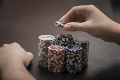 Prize in poker Royalty Free Stock Photos