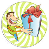 Prize surprise royalty free stock images