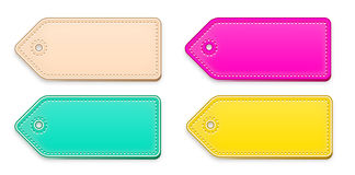 Prize tag in skin color and others Stock Photos