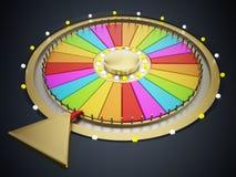 Prize wheel Royalty Free Stock Photos