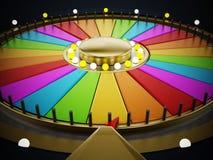 Prize wheel Royalty Free Stock Image