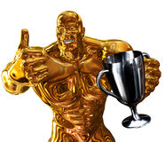 Prize Winner Royalty Free Stock Images