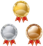 Prizes banners Stock Photography