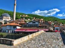 Prizren urban scene Stock Photo
