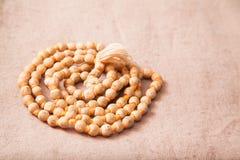 Pärlor för skandera för Japa mala Royaltyfria Bilder