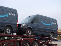 Prme Delivery For New Delivery Start Ups. Amazon needs to order once-in-awhile. Actually, these might be for their delivery company that they contract out for royalty free stock images