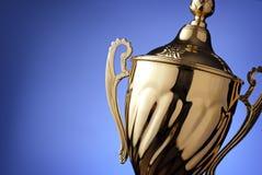 Prêmio de prata do troféu Imagens de Stock