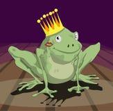 Príncipe de la rana Fotografía de archivo libre de regalías