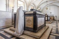 Príncipe Dom Luis Tombs Lisbon de rey Dom Carlos I Fotografía de archivo