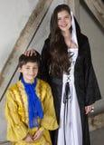 Príncipe y princesa Imagen de archivo libre de regalías