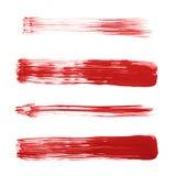 Prości nafcianej farby muśnięcia uderzenia obraz royalty free