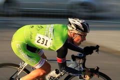 Pro велосипедист стоковое изображение