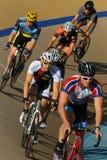 Pro гонка велосипеда Стоковая Фотография RF